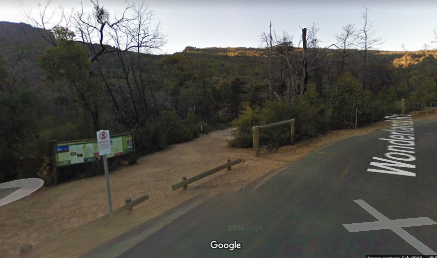 Walk to The Pinnacle with Google Street View   Grampians Guide